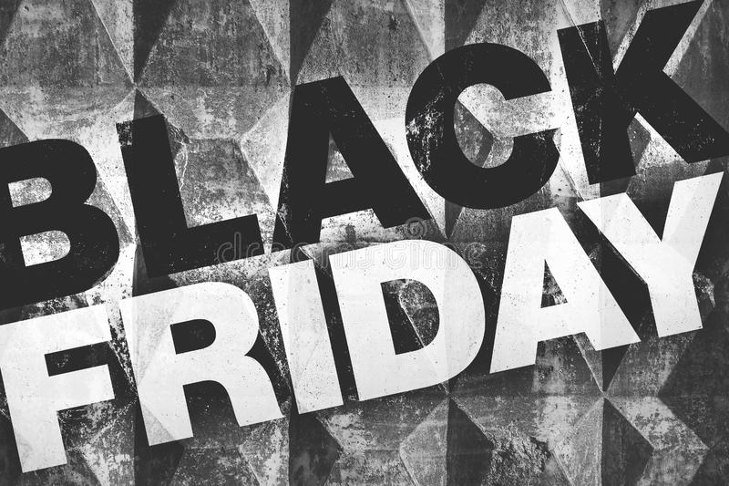 Black Friday affisch royaltyfri foto