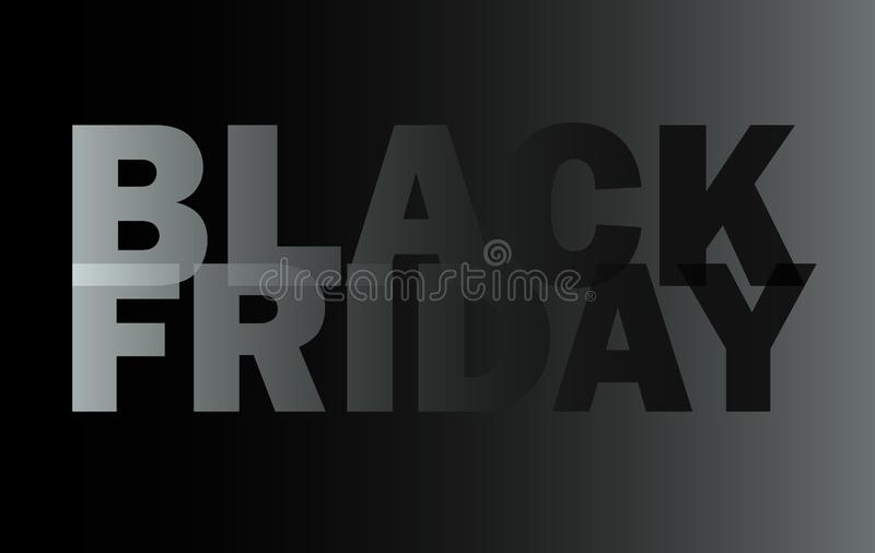 Black friday, sale flyer, promo sign, vector royalty free stock images