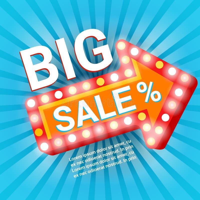 Black Friday Big Sale Holiday Shopping Banner Copy Space. Vector Illustration vector illustration