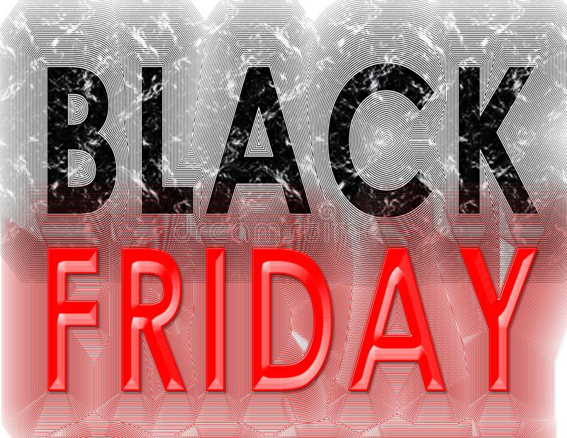 Black Friday grunge vintage royalty free stock images