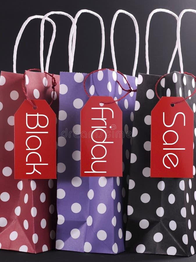 Black Friday-het winkelen verkoopconcept royalty-vrije stock afbeeldingen
