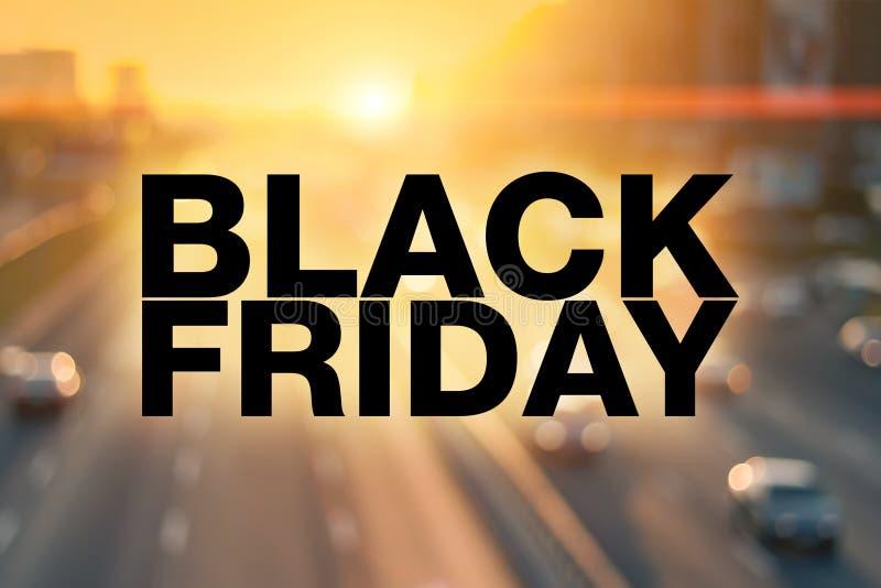 Black Friday plakat obraz royalty free