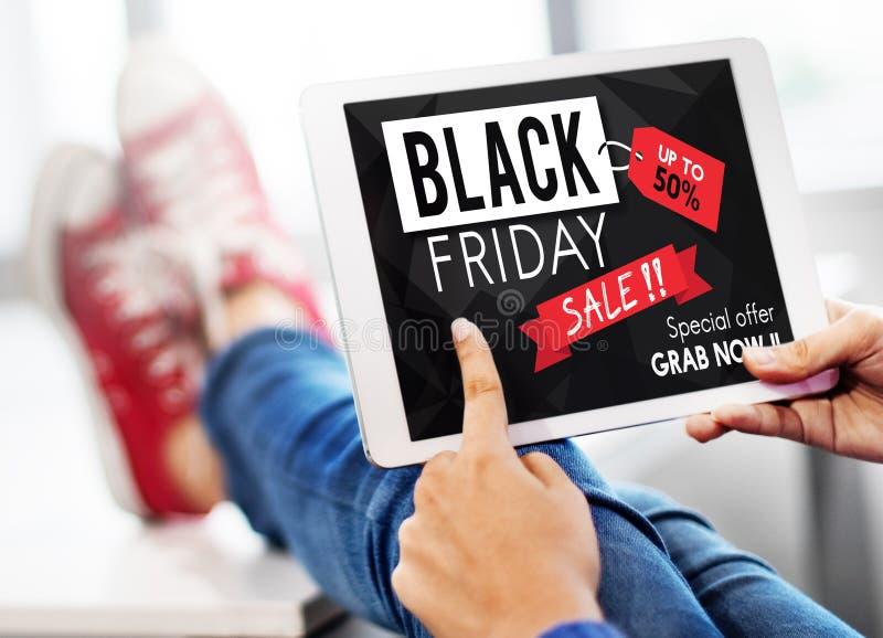 Black Friday rabata ceny promoci Przyrodni pojęcie obraz stock
