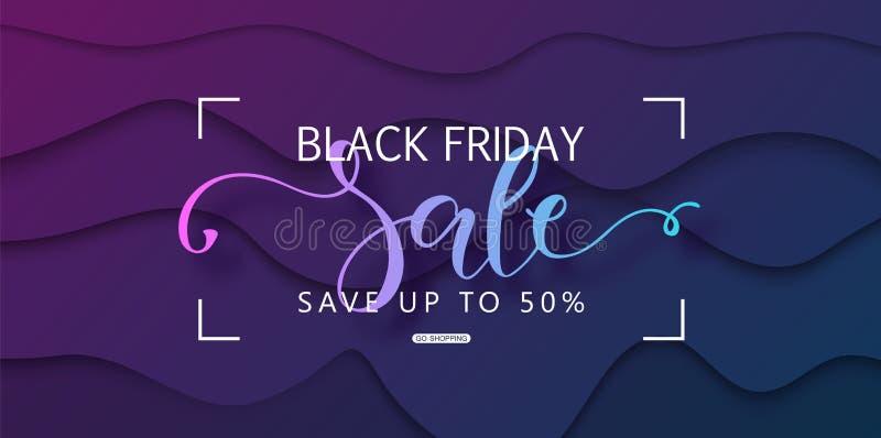 Black friday sale background. Modern design.Universal vector background for poster, banners, flyers, card. vector illustration