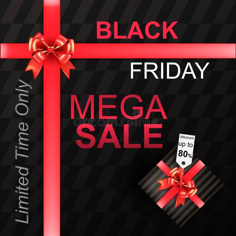 Black Friday Sale stock illustration
