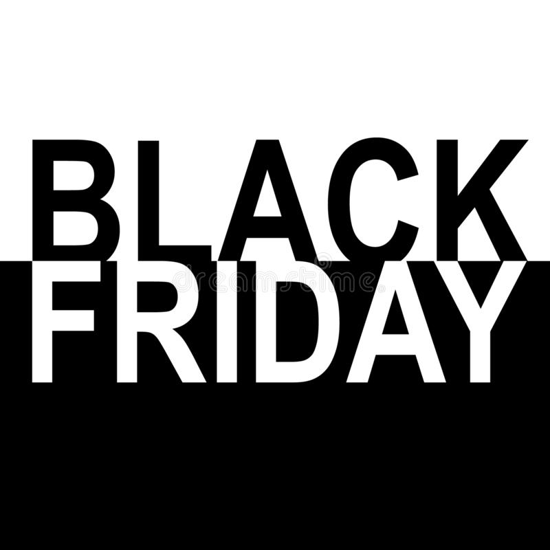 Black Friday Sale Banner royalty free stock images