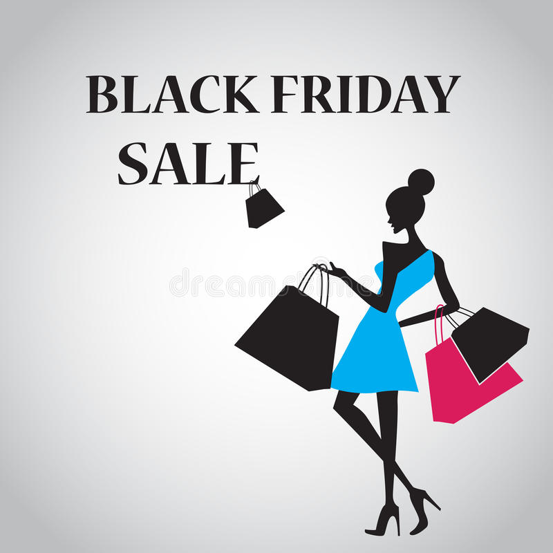 Download Black Friday Sale For Commercial And Ads Stock Vector - Illustration of christmas, fashionable: 45220806