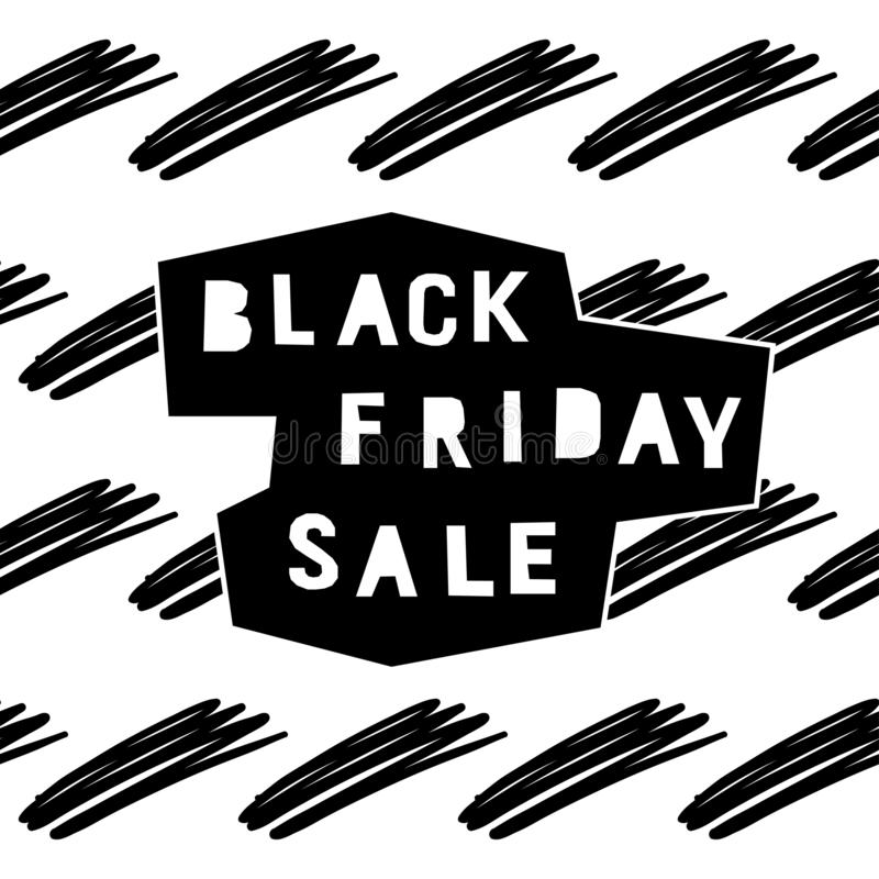 Black friday sale event theme. Abstract black friday pattern vector illustration