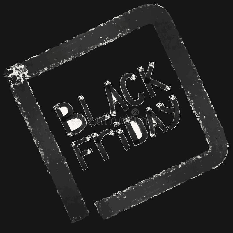 Black friday. Sale. Grunge background. royalty free stock photo