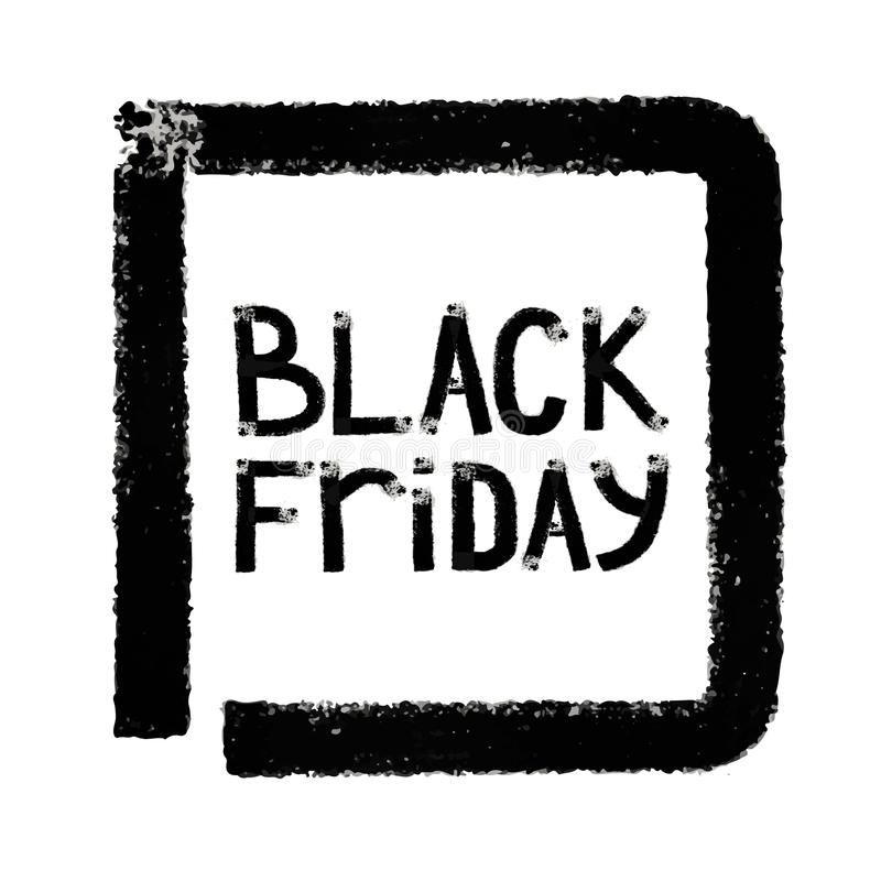 Black friday. Sale. Grunge background. royalty free stock photos