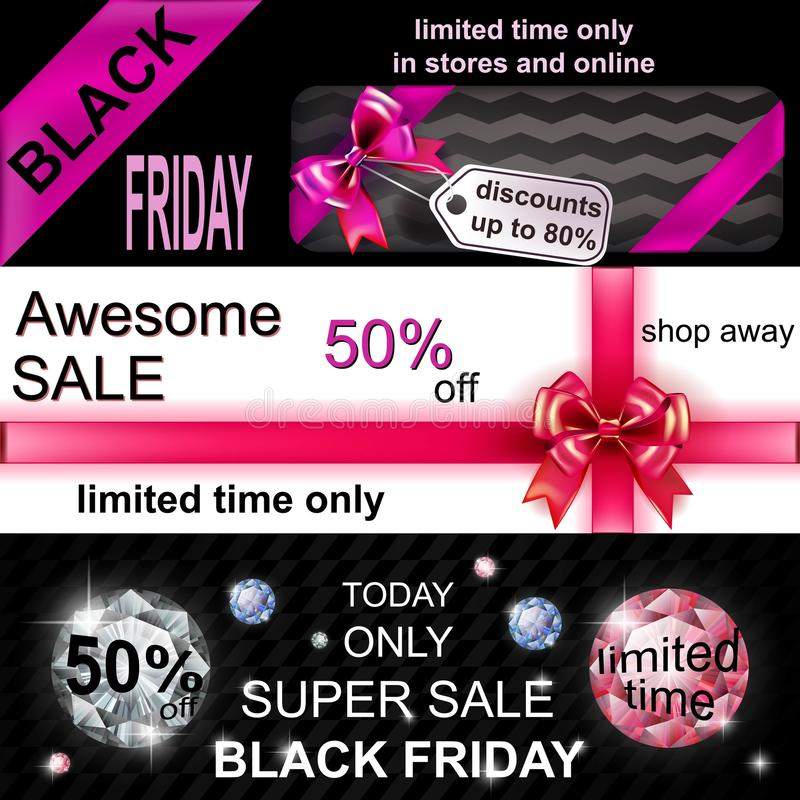 Black Friday Sale royalty free illustration