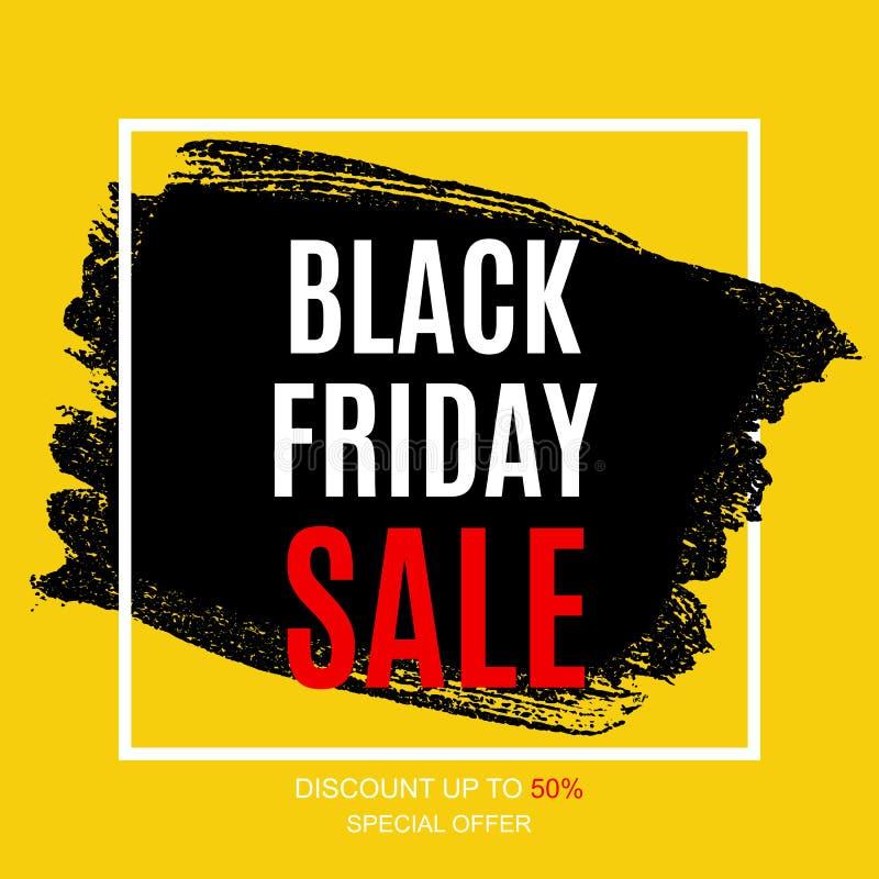 Download Black Friday Sale Inscription Banner Design Template. Vector Illustration Stock Vector - Illustration of fashion, discount: 99832326