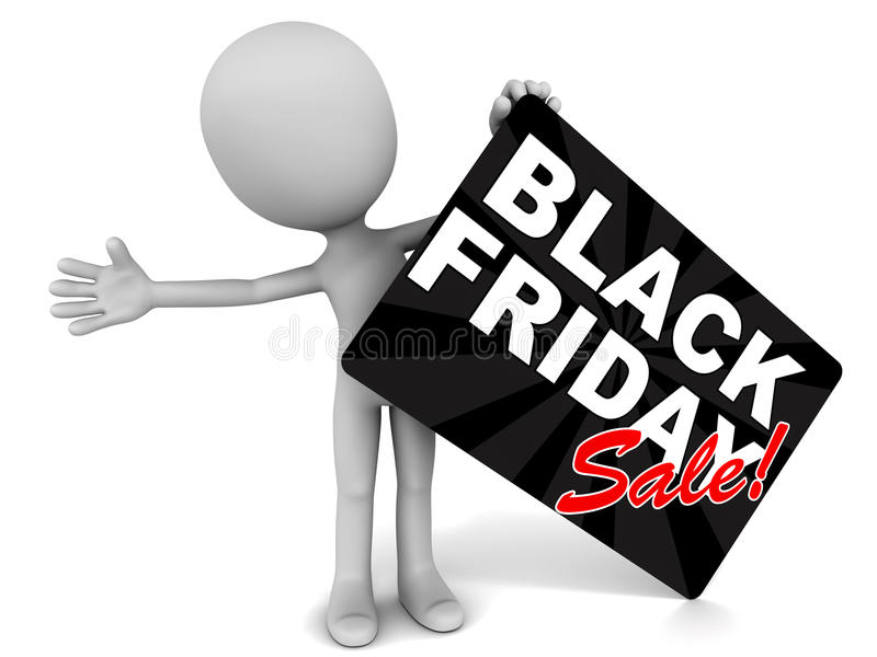 Download Black friday sale stock illustration. Image of present - 30647960
