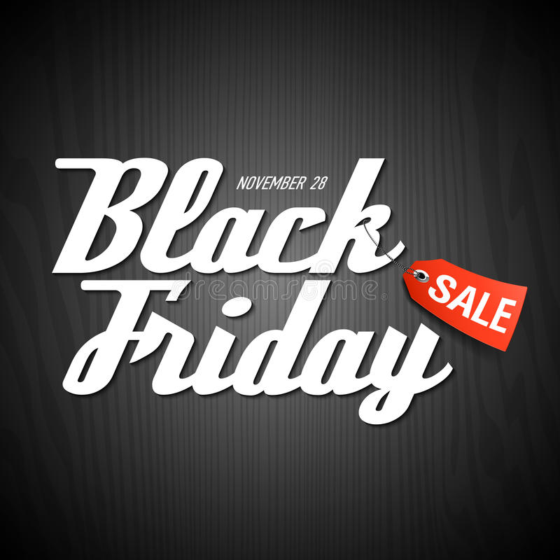 Free Black Friday Sale Poster Stock Images - 46714274