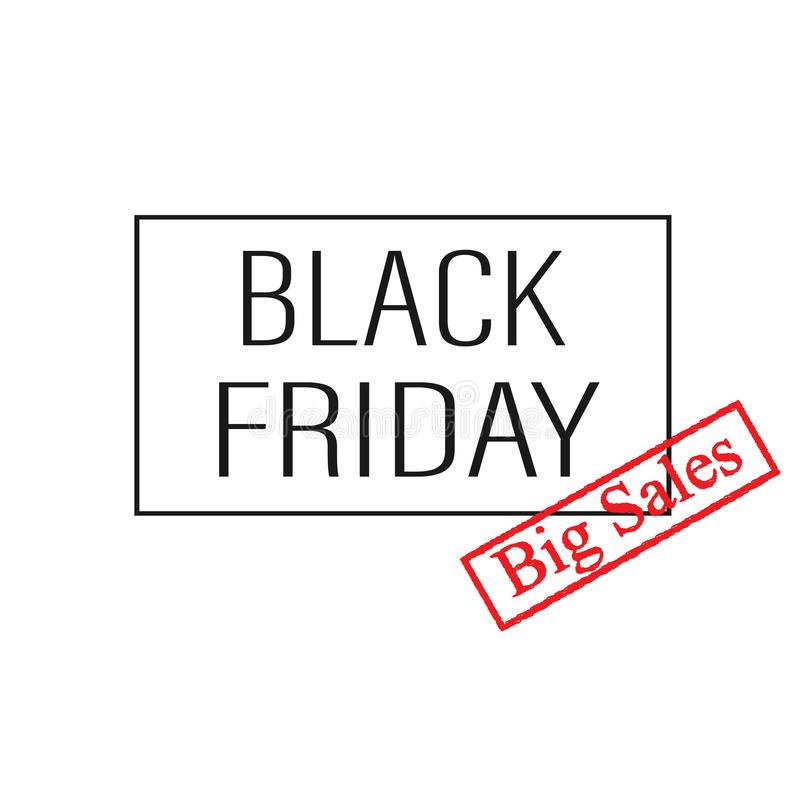 Black Friday Sale Black Friday Super-Verkauf Banner stockfotografie