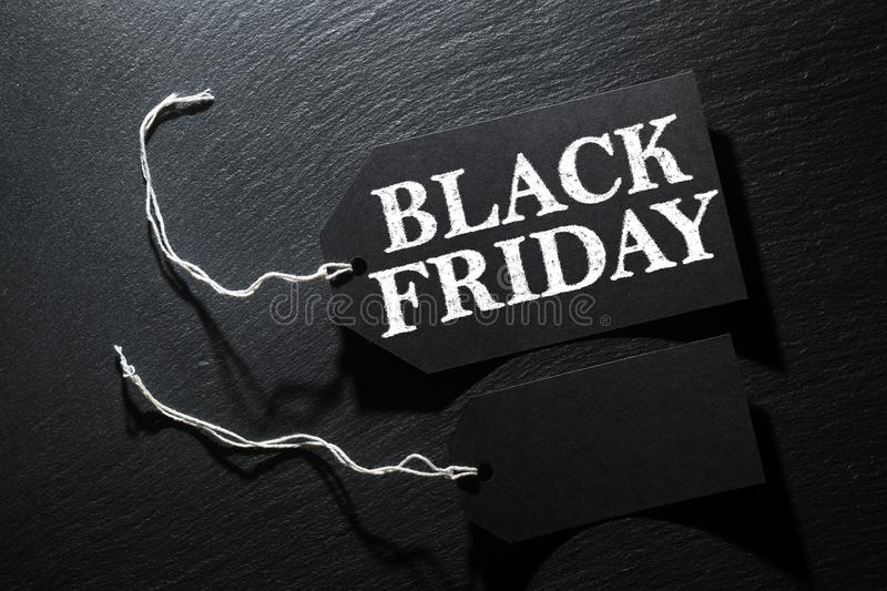 Black Friday Sale tag background royalty free stock photography