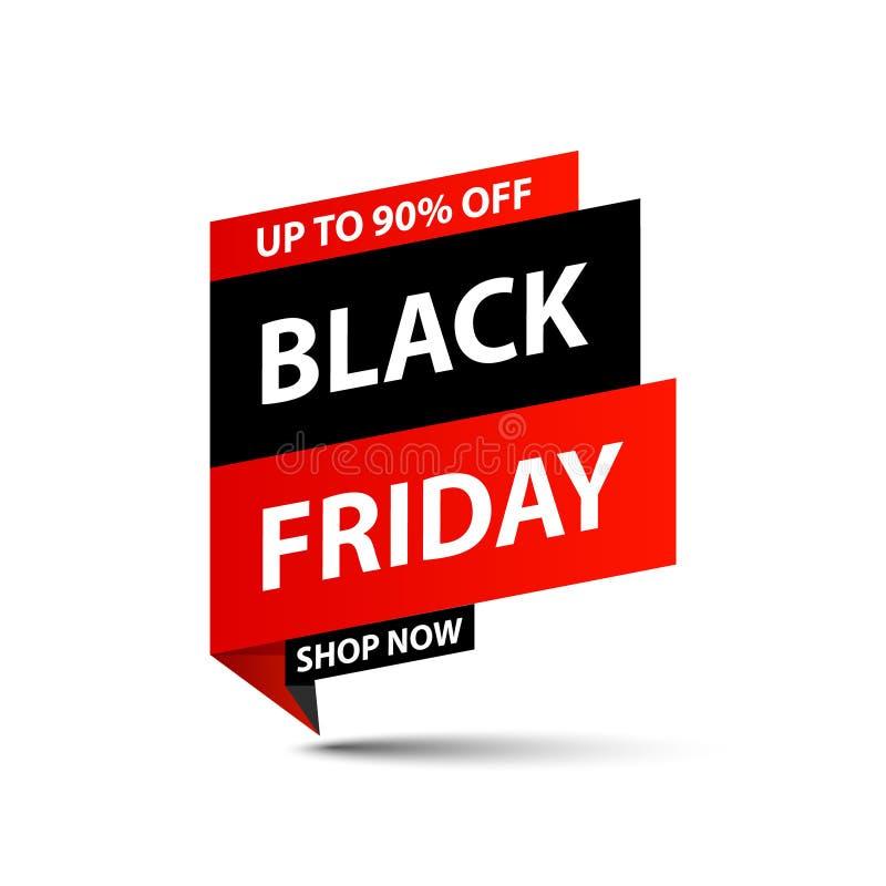 Black Friday Sale tag. Special offer, big sale, discount, best price, mega sale banner. Shop or online shopping. Sticker, badge, royalty free illustration