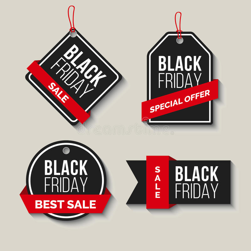 Black friday Sale. Vector Illustration. royalty free stock photography