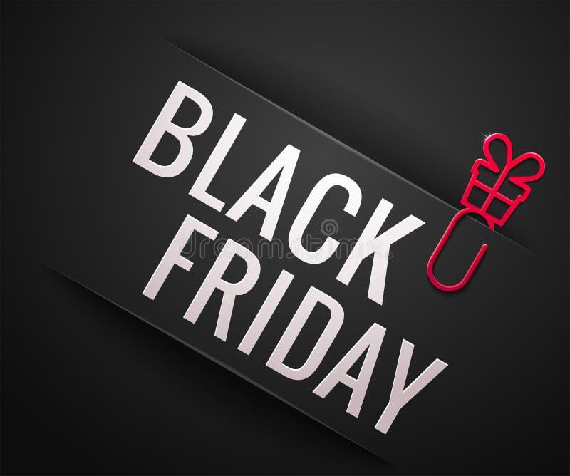 Black Friday Sale vektorillustration stock illustrationer