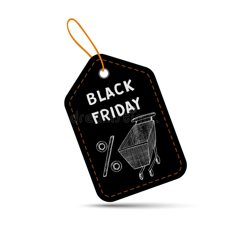 Black Friday sales tag stock photos