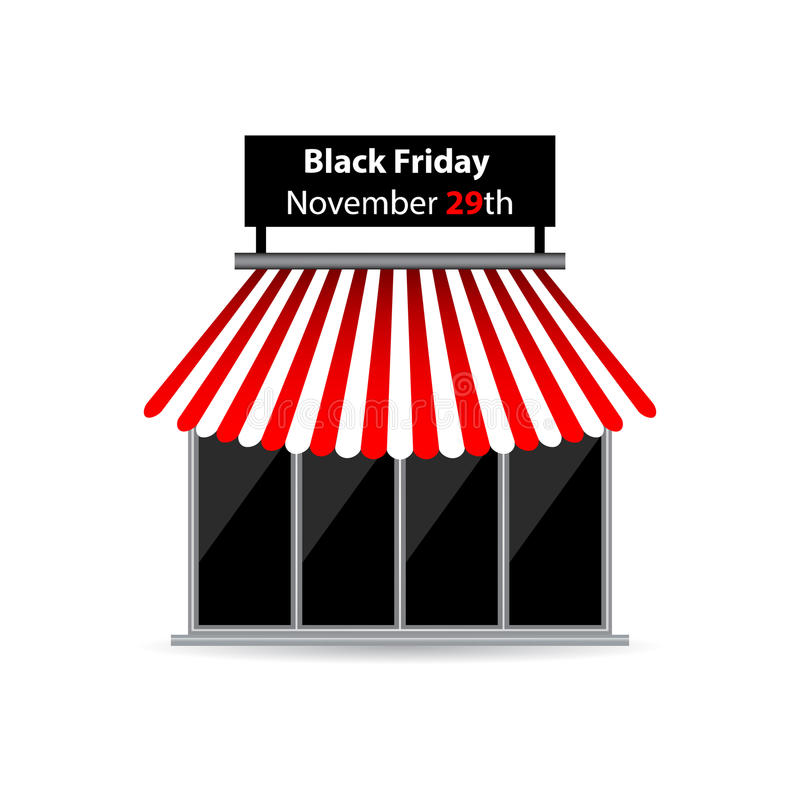 Download Black Friday Shop Icon Royalty Free Stock Photos - Image: 31847178