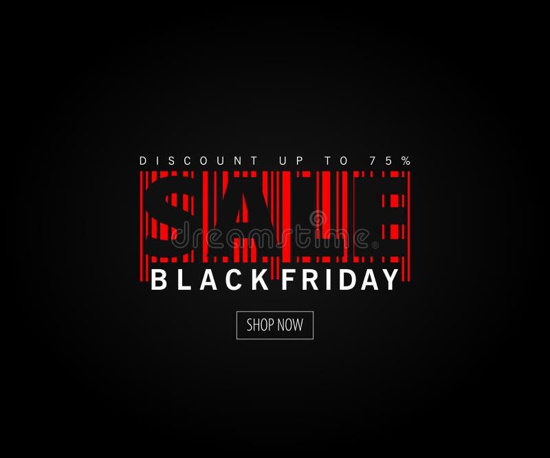Black Friday sprzedaży projekta wpisowy szablon Czarny Piątku sztandar również zwrócić corel ilustracji wektora ilustracji
