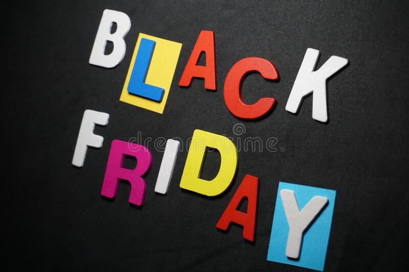Black Friday Stock Photo Image Of Text Word Design 172144320
