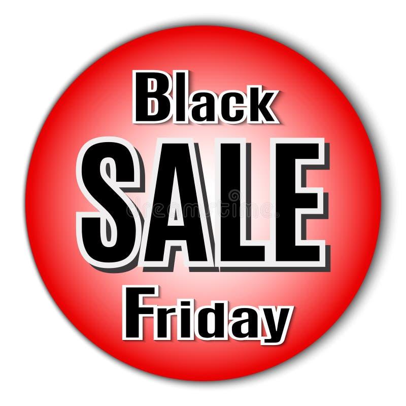 Black Friday. Vector image with inscription black friday. royalty free stock photo