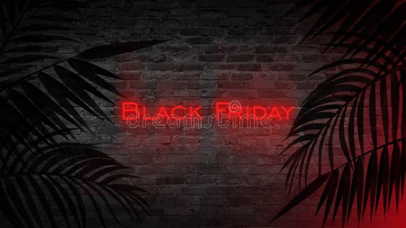 Black Friday-Verkauf, Fahne, Plakat lizenzfreie abbildung