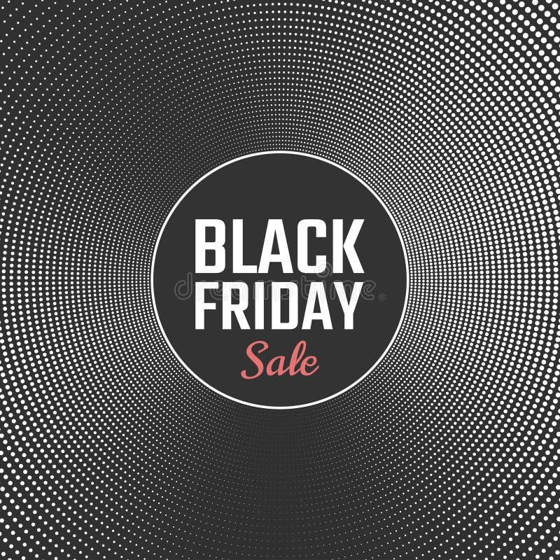 Black Friday-Verkaufshintergrund Auch im corel abgehobenen Betrag lizenzfreie abbildung