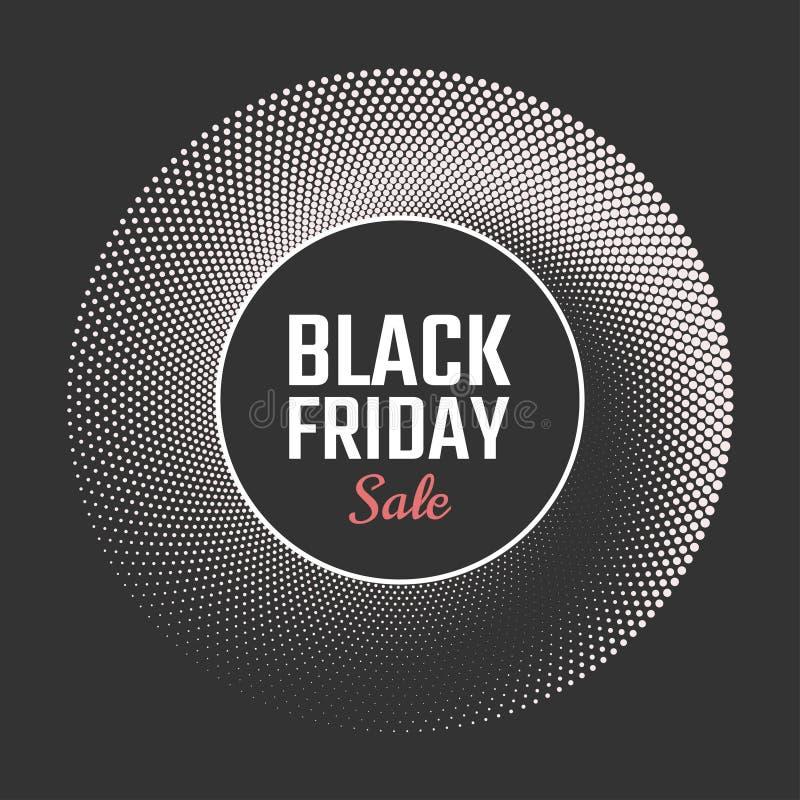 Black Friday-Verkaufshintergrund Auch im corel abgehobenen Betrag vektor abbildung