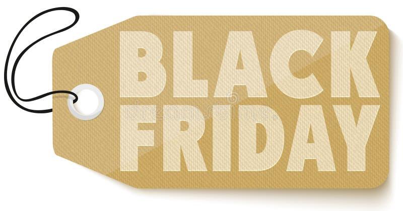 Black Friday-Verkaufstag lizenzfreie abbildung