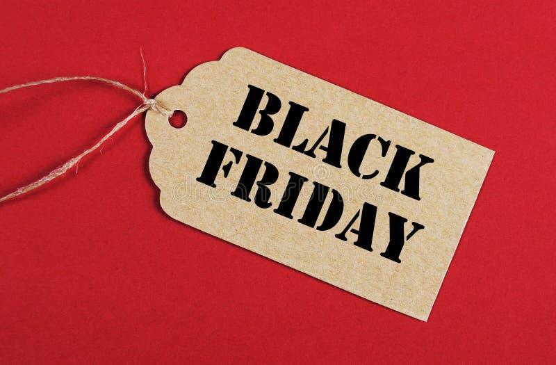 Black Friday-verkoopmarkering royalty-vrije stock foto's
