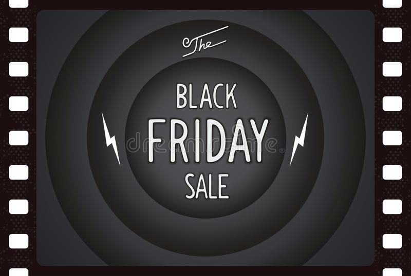 Black friday vintage banner stock photos