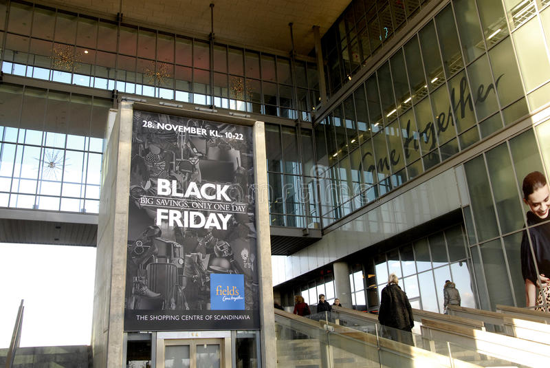 BLACK FRIDAY W DANI zdjęcia royalty free