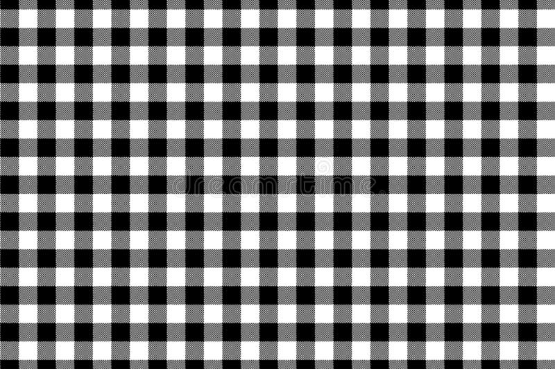 Black Gingham pattern. Texture from rhombus/squares for - plaid, tablecloths, clothes, shirts, dresses, paper, bedding, blankets,. Quilts and other textile stock photos