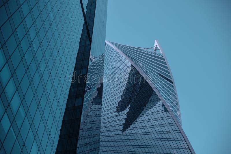 Black Glass High Rise Building royalty free stock photos