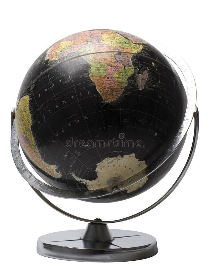 Black globe royalty free stock images