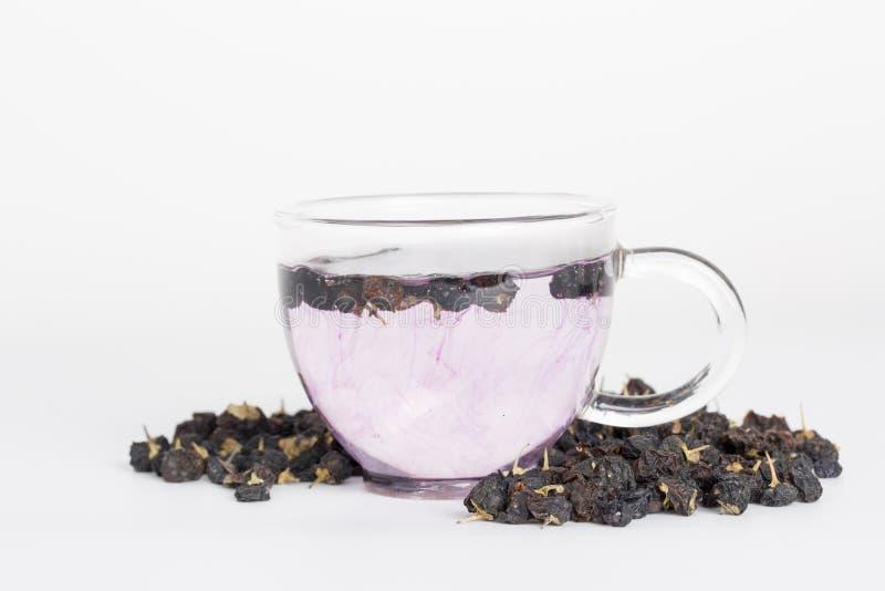 Black Goji Berry Tea Stock Image Image Of Glass Ingredient