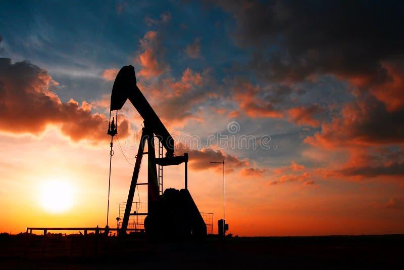 Black Gold. Oil pump near College Station, TX