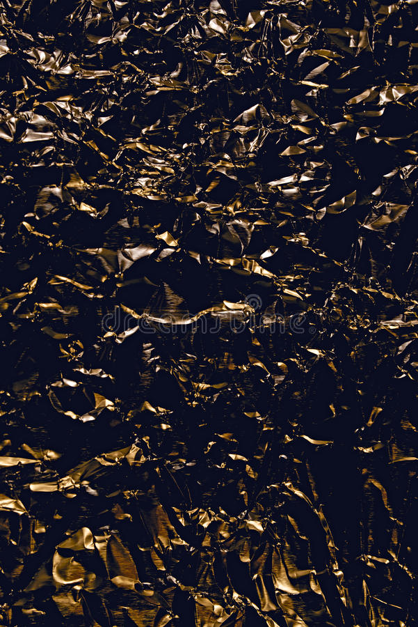 Black with gold abstract background