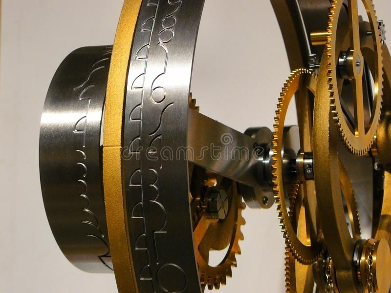 Black and Gold Machine royalty free stock photo