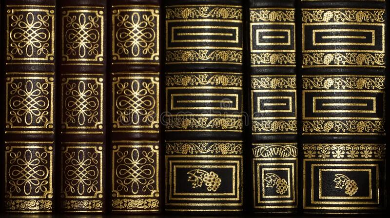 Black And Golden Stacked Book Free Public Domain Cc0 Image