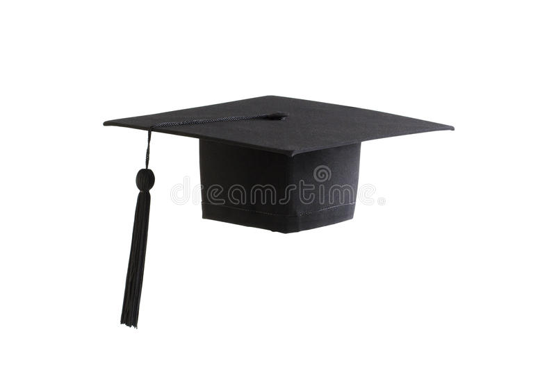 Download Black graduation cap stock photo. Image of graduating - 26140402