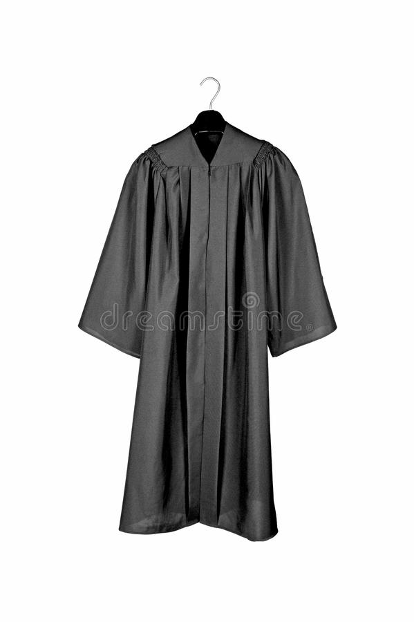 Free Black Graduation Gown Stock Images - 23649054