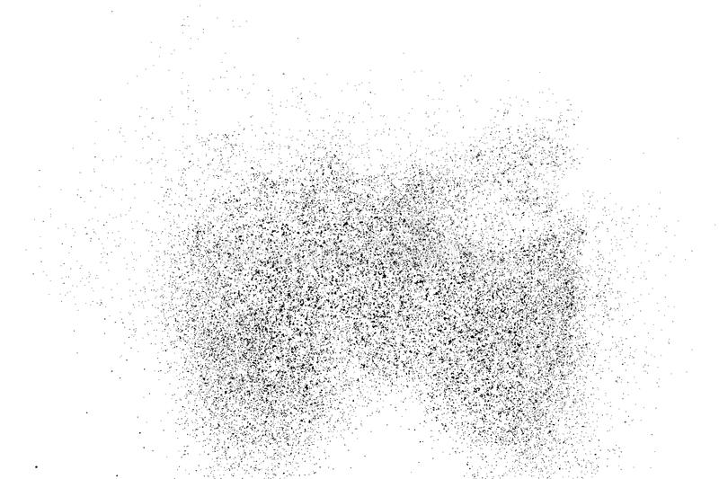Black grainy texture isolated on white. Black grainy texture isolated on white background. Distress overlay textured. Grunge design elements. Vector royalty free illustration
