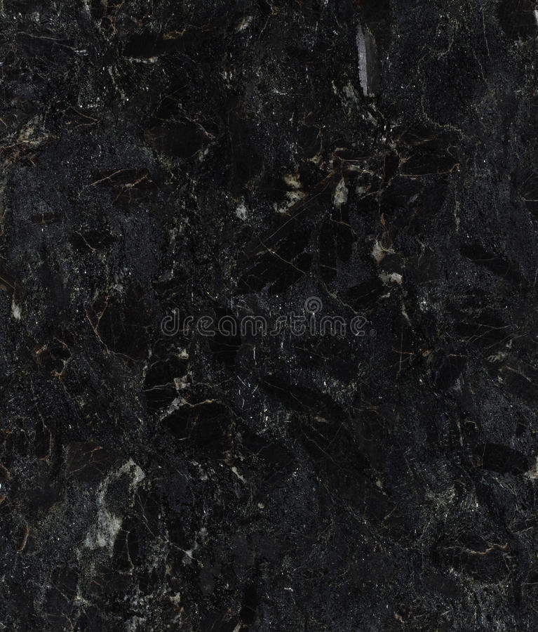 Black granite texture. Natural black granite texture background royalty free stock images