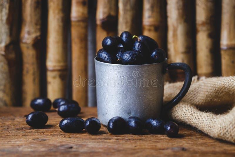 Download Black Grapes stock photo. Image of wood, fruit, food - 83703060