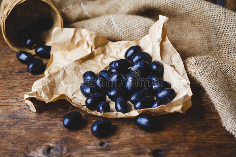 Download Black Grapes Stock Photo - Image: 83703650