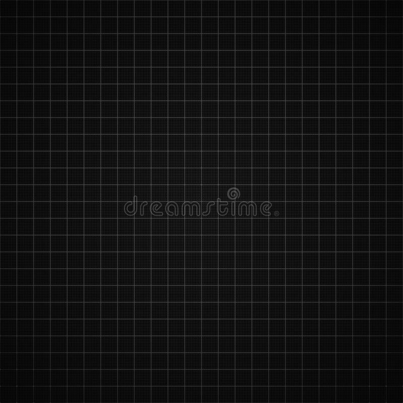 Black Graph Paper Background Royalty Free Stock Images